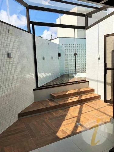 cobertura residencial à venda, cabo branco, joão pessoa - co0057. - co0057