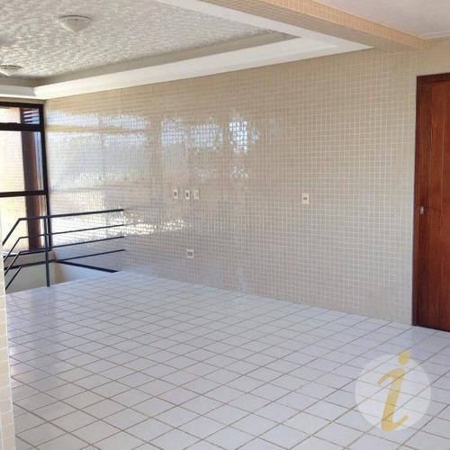 cobertura residencial à venda, camboinha iii, cabedelo. - co0070