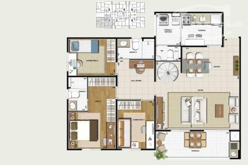 cobertura residencial à venda, cambuci, são paulo. - co0075