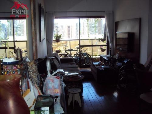 cobertura residencial à venda, cambuí, campinas. - co0009