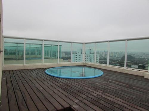 cobertura residencial à venda, campestre, santo andré - co0206. - co0206