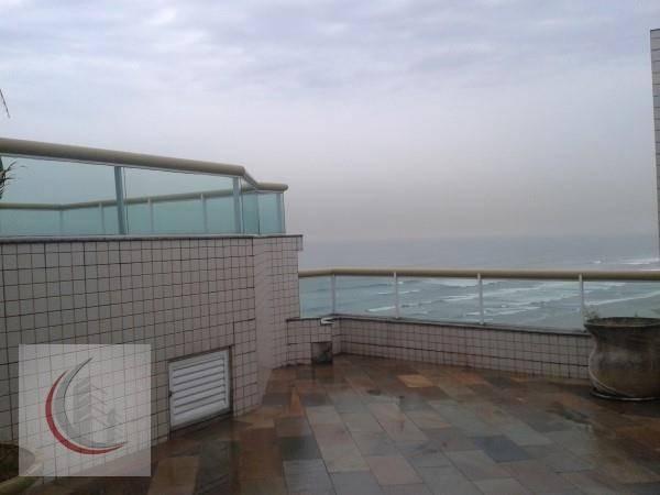 cobertura  residencial à venda, campo da aviação, praia grande. - co0008