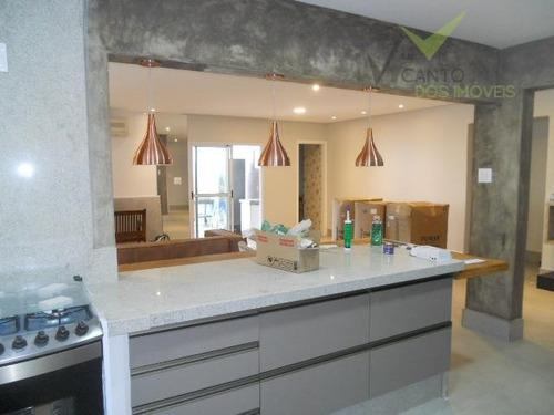 cobertura residencial à venda, canto do forte, praia grande - co0005. - co0005