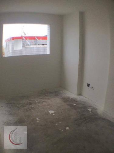 cobertura  residencial à venda, centro, mongaguá. - co0026