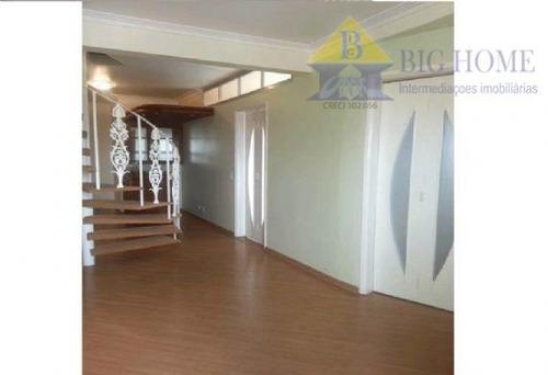 cobertura residencial à venda, chácara do encosto, são paulo - co0009. - co0009