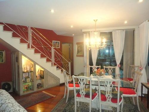 cobertura residencial à venda, chácara inglesa, são paulo - co0044. - co0044