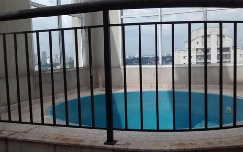 cobertura residencial à venda, chácara santo antônio (zona sul), são paulo.