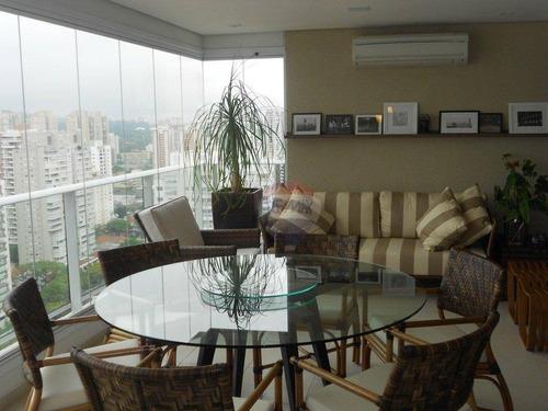 cobertura residencial à venda, cidade monções, são paulo - co0030. - co0030