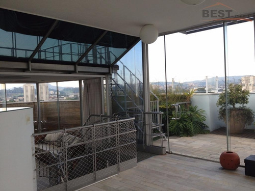 cobertura residencial à venda, city lapa, são paulo. - co0193