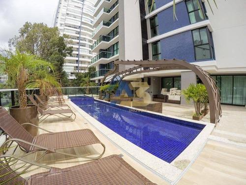 cobertura residencial à venda, ecoville, curitiba. - co0021