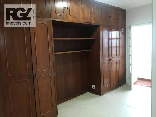 cobertura residencial à venda, embaré, santos. - co0197