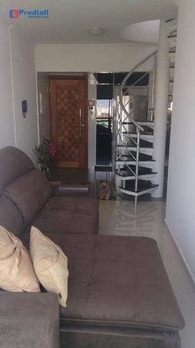 cobertura residencial à venda, freguesia do ó, são paulo. - co0026