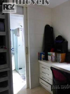 cobertura residencial à venda, gonzaga, santos. - co0145