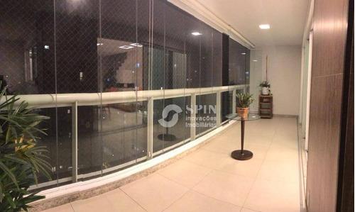cobertura residencial à venda, icaraí, niterói. - co0060