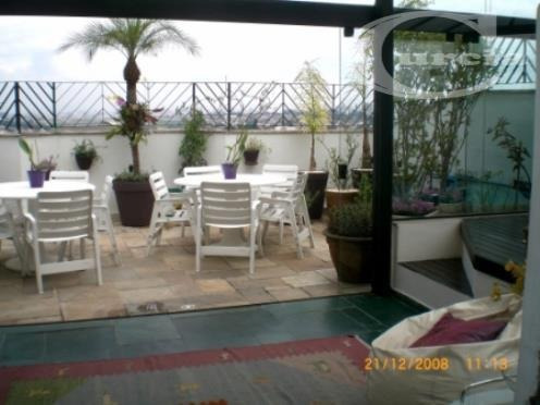 cobertura residencial à venda, jabaquara, são paulo - co0077. - co0077
