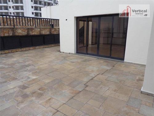 cobertura residencial à venda, jardim anália franco, são paulo - co0154. - co0154