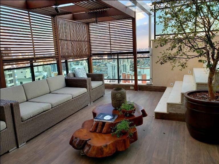 cobertura residencial à venda, jardim anália franco, são paulo. - co0275