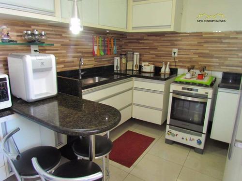 cobertura residencial à venda, jardim camburi, vitória - co0172. - co0172