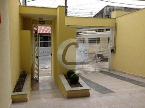 cobertura residencial à venda, jardim santo antônio, santo andré. - co0298