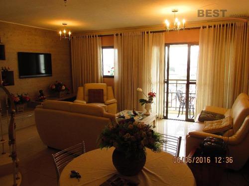 cobertura residencial à venda, lapa, são paulo. - co0198