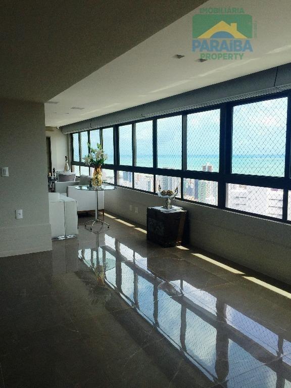 cobertura residencial à venda, miramar, joão pessoa - co0050. - co0050