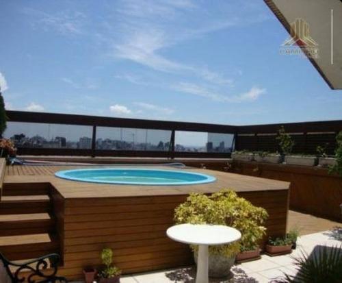 cobertura residencial à venda, mont serrat, porto alegre - co0092. - co0092