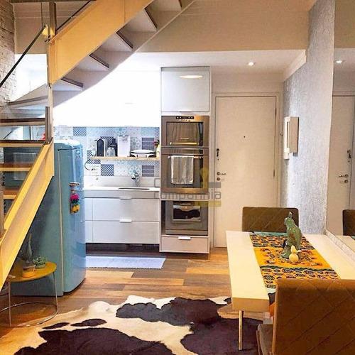 cobertura residencial à venda, paraíso, são paulo - co0212. - co0212