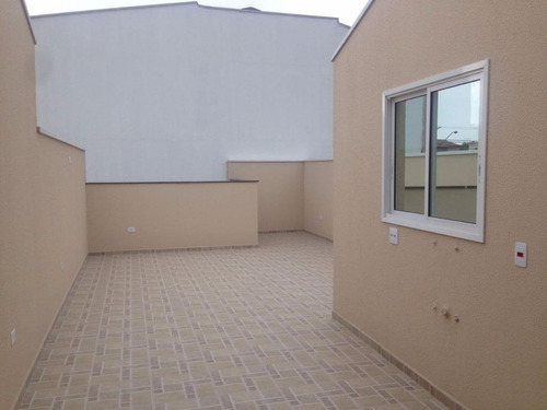 cobertura residencial à venda, parque capuava, santo andré. - co0689