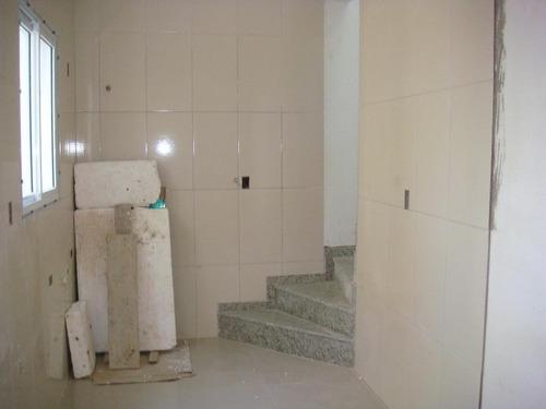 cobertura residencial à venda, parque novo oratório, santo andré. - co0386