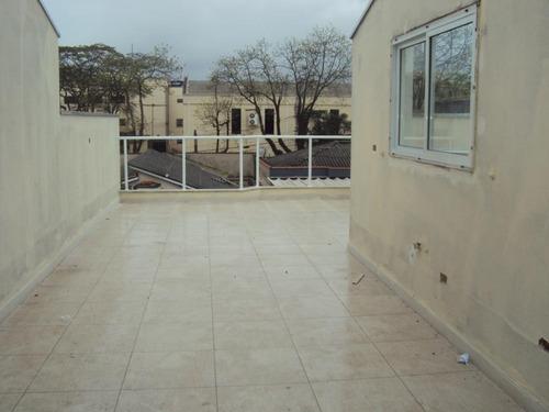 cobertura residencial à venda, parque oratório, santo andré. - co0395