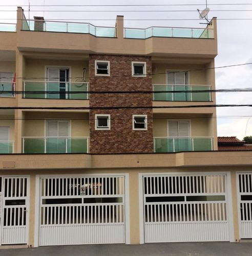 cobertura residencial à venda, parque oratório, santo andré - co0528. - co0528