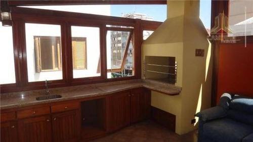cobertura residencial à venda, petrópolis, porto alegre - co0148. - co0148