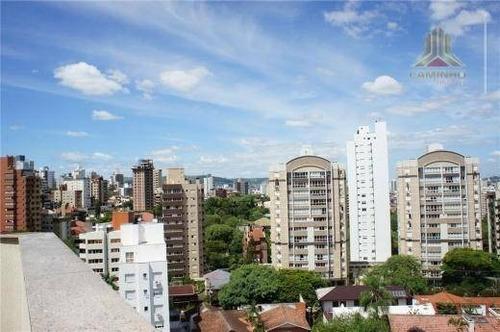 cobertura residencial à venda, petrópolis, porto alegre - co0165. - co0165