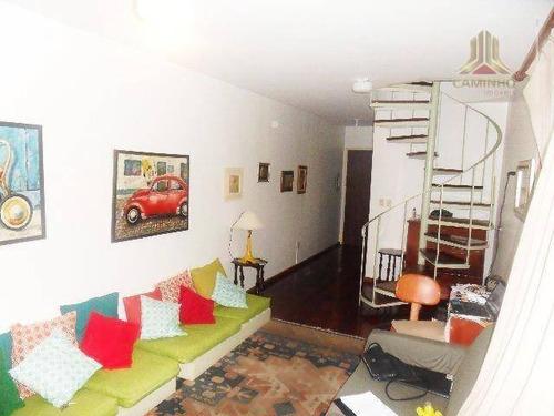 cobertura residencial à venda, petrópolis, porto alegre. - co0255