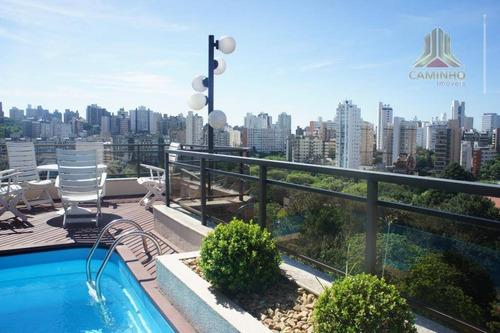 cobertura residencial à venda, petrópolis, porto alegre. - co0263