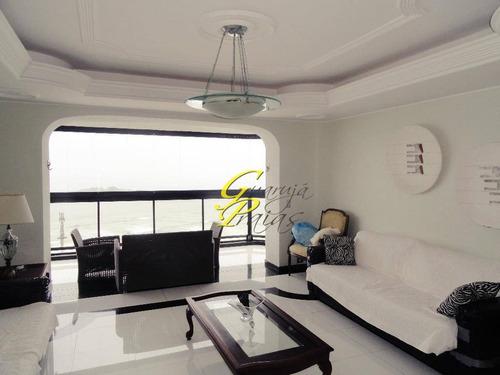 cobertura residencial à venda, pitangueiras, guarujá - co0117. - co0117