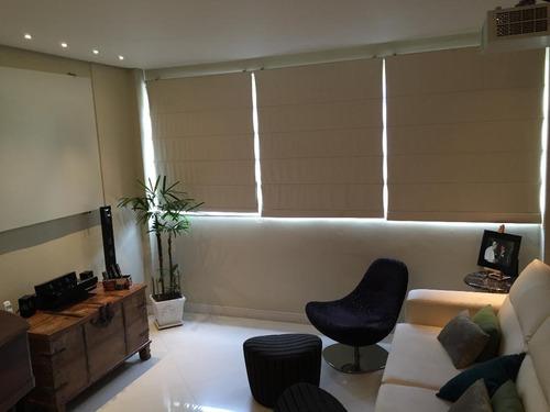 cobertura residencial à venda, pompéia, santos - co0034. - co0034