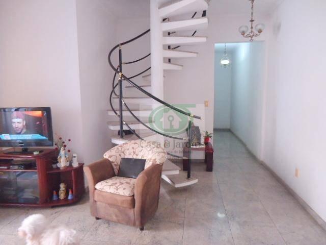 cobertura residencial à venda, pompéia, santos. - co0174