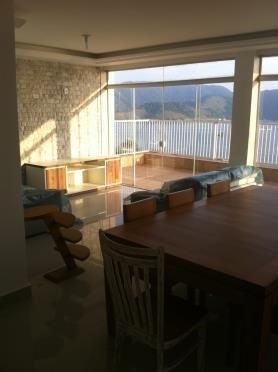 cobertura  residencial à venda, ponta da praia, santos - bs imóveis
