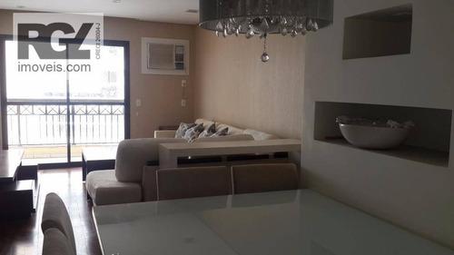 cobertura residencial à venda, ponta da praia, santos. - co0104