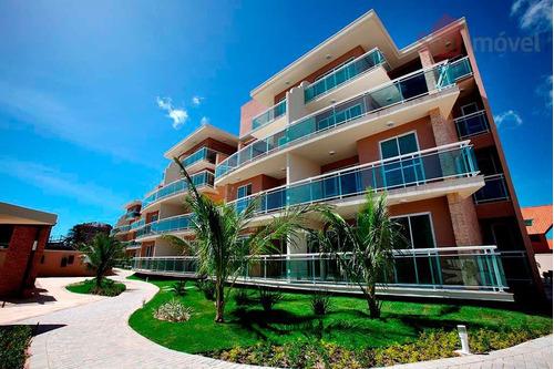 cobertura  residencial à venda, porto das dunas, aquiraz. - co0008