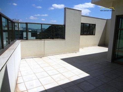 cobertura residencial à venda, praia da costa, vila velha. - co0033