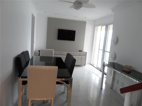 cobertura residencial à venda, praia das astúrias, guarujá - co0079. - co0079
