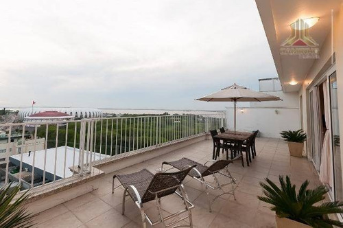 cobertura residencial à venda, praia de belas, porto alegre. - co0234