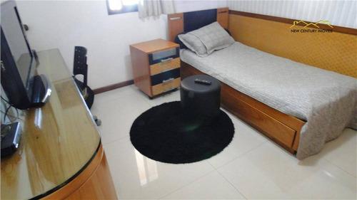 cobertura residencial à venda, praia de itapoã, vila velha. - co0108