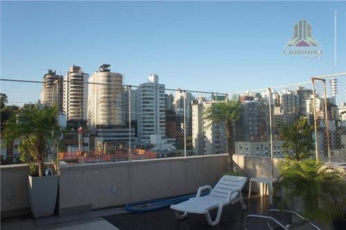 cobertura residencial à venda, rio branco, porto alegre. - co0206