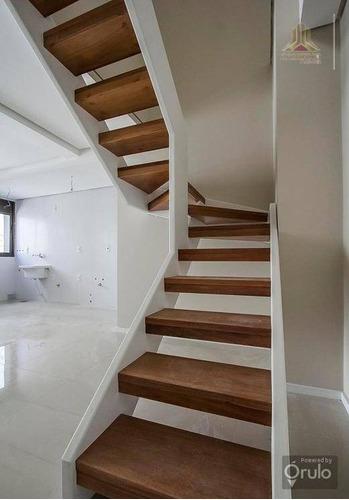 cobertura residencial à venda, rio branco, porto alegre. - co0412