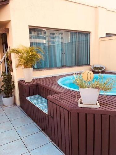 cobertura residencial à venda, santa rosa, niterói. - co0011