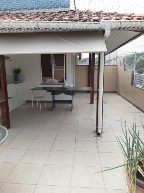 cobertura residencial à venda, santa rosa, niterói. - co0256