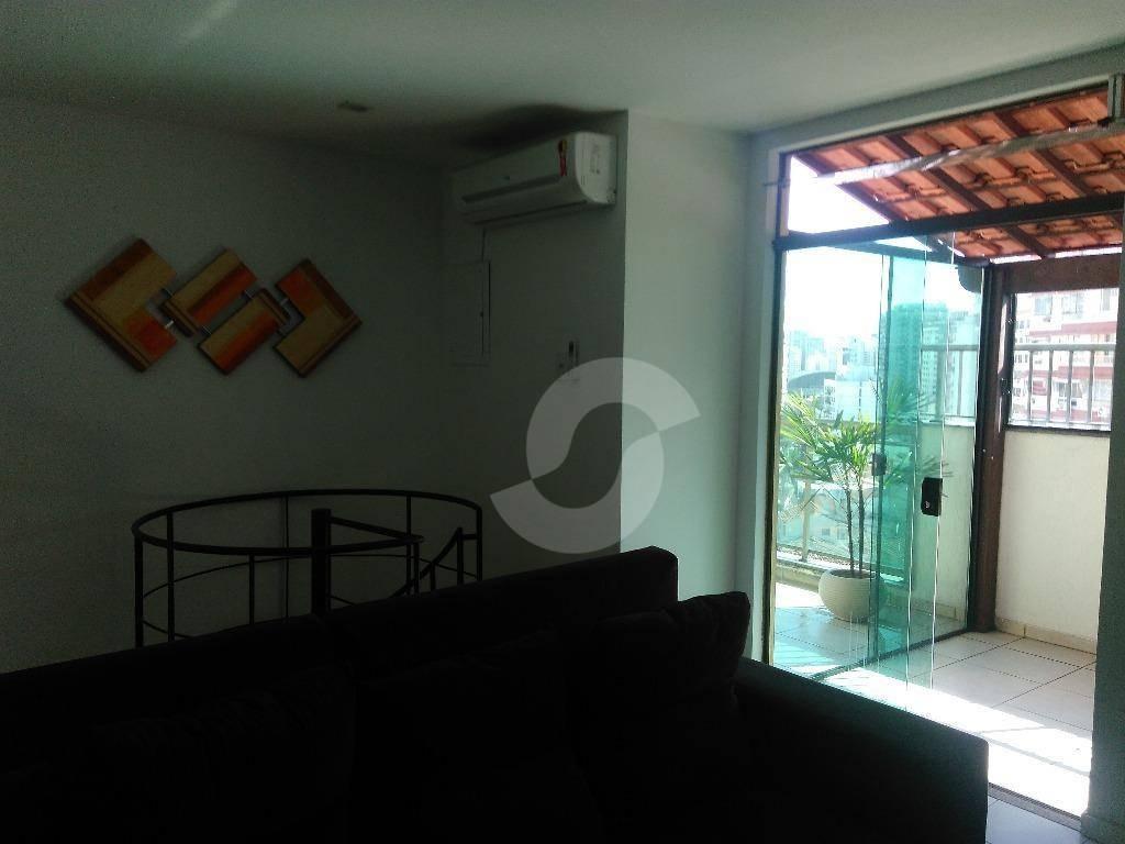 cobertura residencial à venda, santa rosa, niterói. - co4635